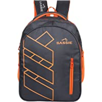 Sassie Grey Polyester 41 Ltr School Backpack