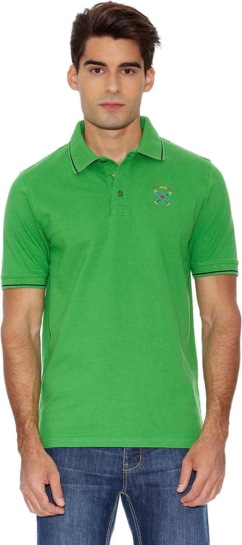 La Española Polo Custom Fit Verde Menta S: Amazon.es: Ropa y ...