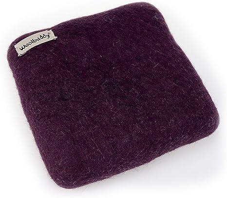 Purple Woolbuddy Needle Felting 100/% Woolen Mat Size XL