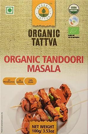 Organic Tattva Tandoori Masala, 100g