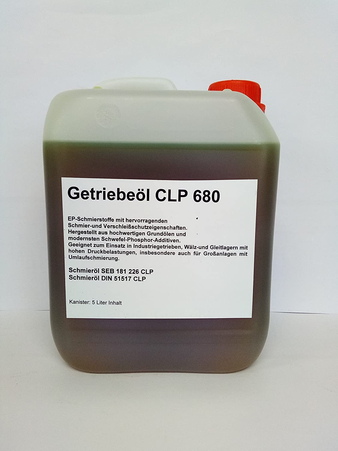 Getriebeö l CLP 680 Kanister 5 Liter East Germany OIL