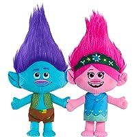 2-Pack Trolls World Tour Poppy & Branch Friendship Plush Deals