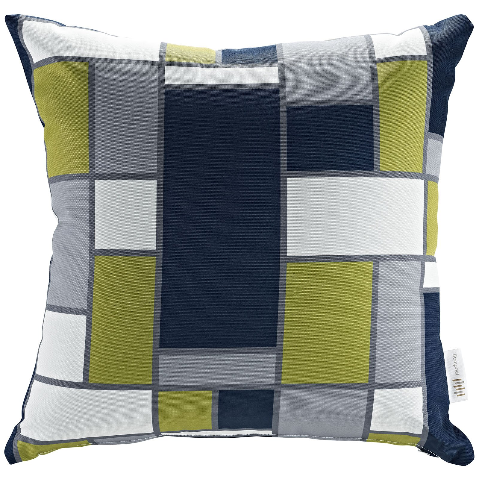 Modway Outdoor Patio Pillow, Rectangle