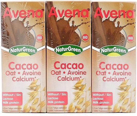 NATURGEEN BEBIDA AVENA CHOCOLATE 200 ml: Amazon.es: Hogar