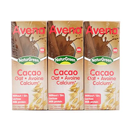 NATURGEEN BEBIDA AVENA CHOCOLATE 200 ml