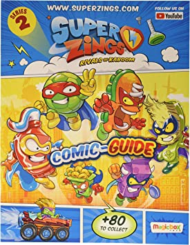 Magic Box MBXPSZ2S112UK00 Superzings ROK S2 - Blister para Principiantes, Multicolor: Amazon.es: Juguetes y juegos