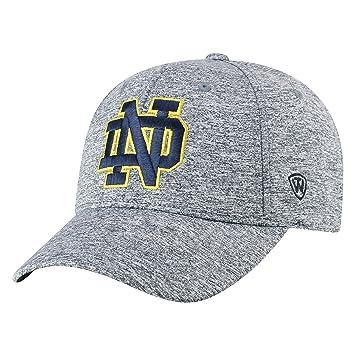 big sale 70f99 9ae2c NCAA Notre Dame Fighting Irish Men s Adjustable Steam Charcoal Icon Hat,  Grey, Baseball Caps - Amazon Canada