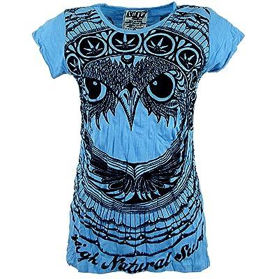 GURU-SHOP, Camiseta Sure T-Shirt Owl, Algodón, Camisas Seguras: Ropa y accesorios