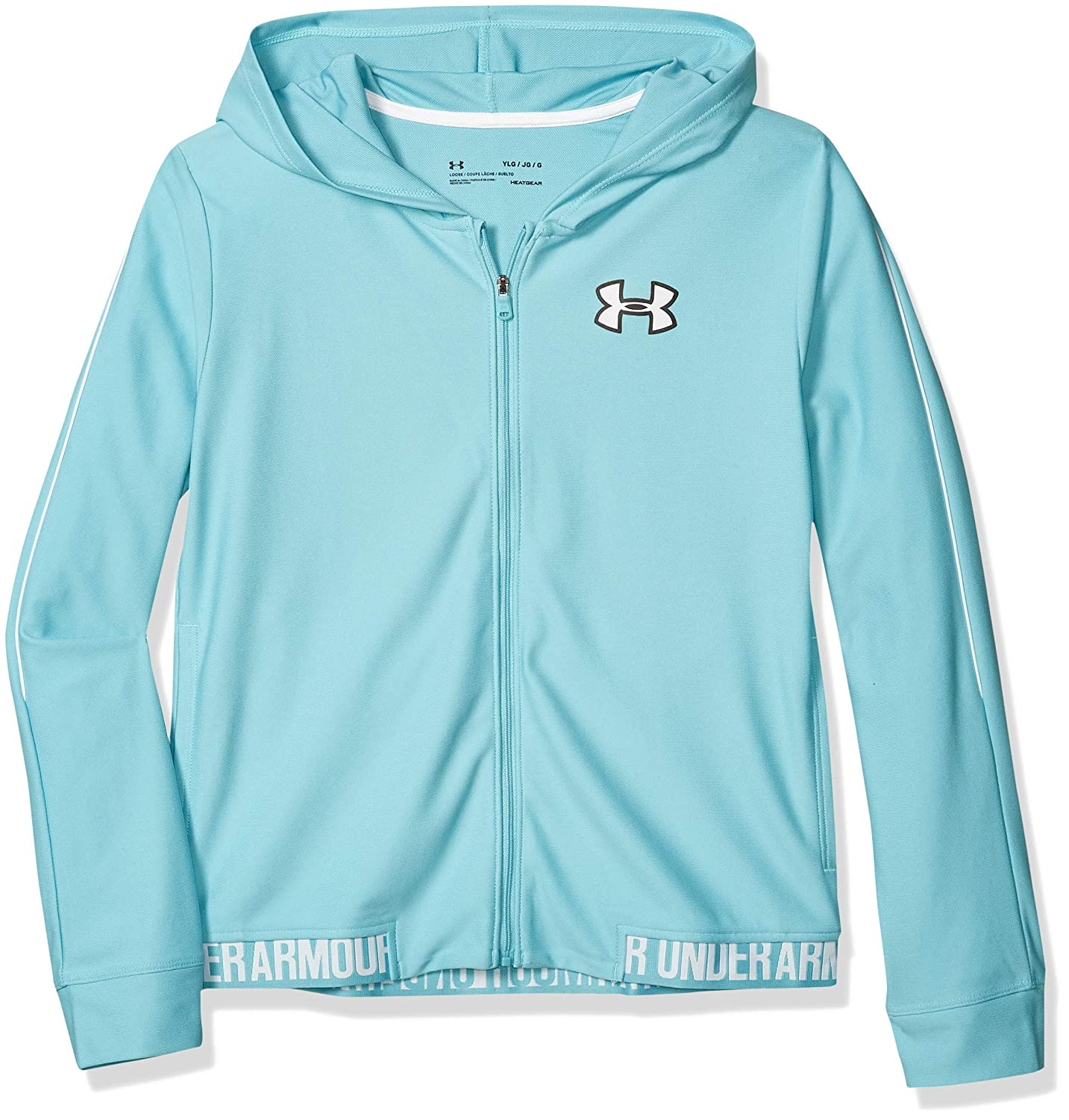 Under Armour Girls Play Up Full Zip-Up Jacket