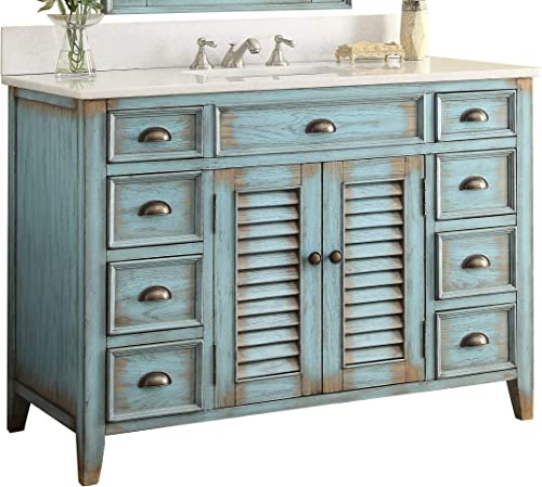 46 Benton Collection Cottage Look Abbeville Bathroom Sink Vanity Model CF28885BU