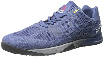 reebok crossfit shoes blue. reebok men\u0027s crossfit nano 5.0 training shoe, midnight blue/collegiate navy/tin grey shoes blue i