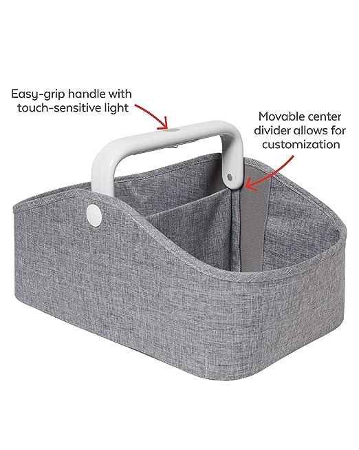 Amazon.com: skip hop guardería estilo Light-Up pañales Caddy ...
