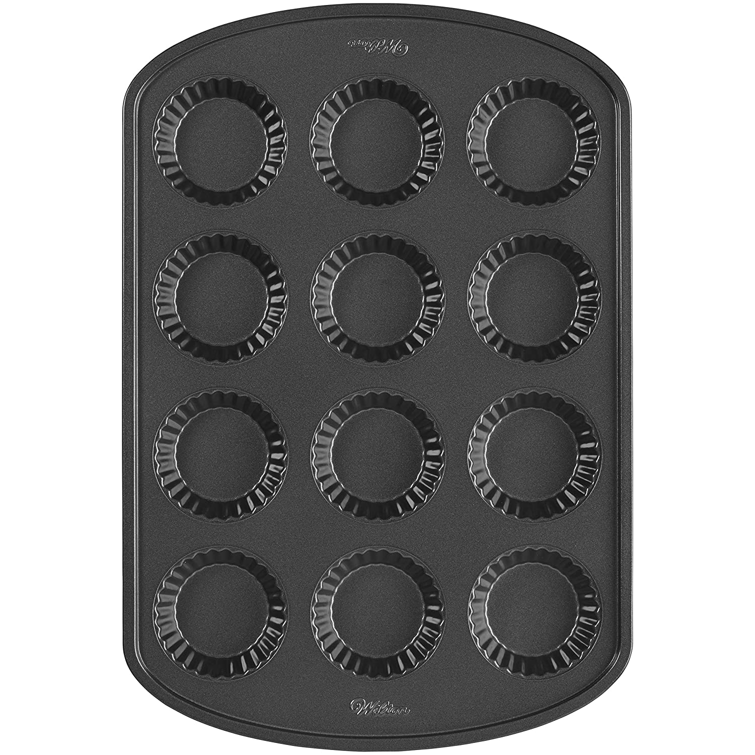 Wilton 2105-0089 12-Cavity Nonstick Tart Pan, Mini