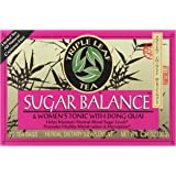 Triple Leaf Tea, Sugar Balance, 20 Tea Bags (Pack of 6)