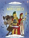 Come si vestono... miti greci. Con adesivi. Ediz. illustrata