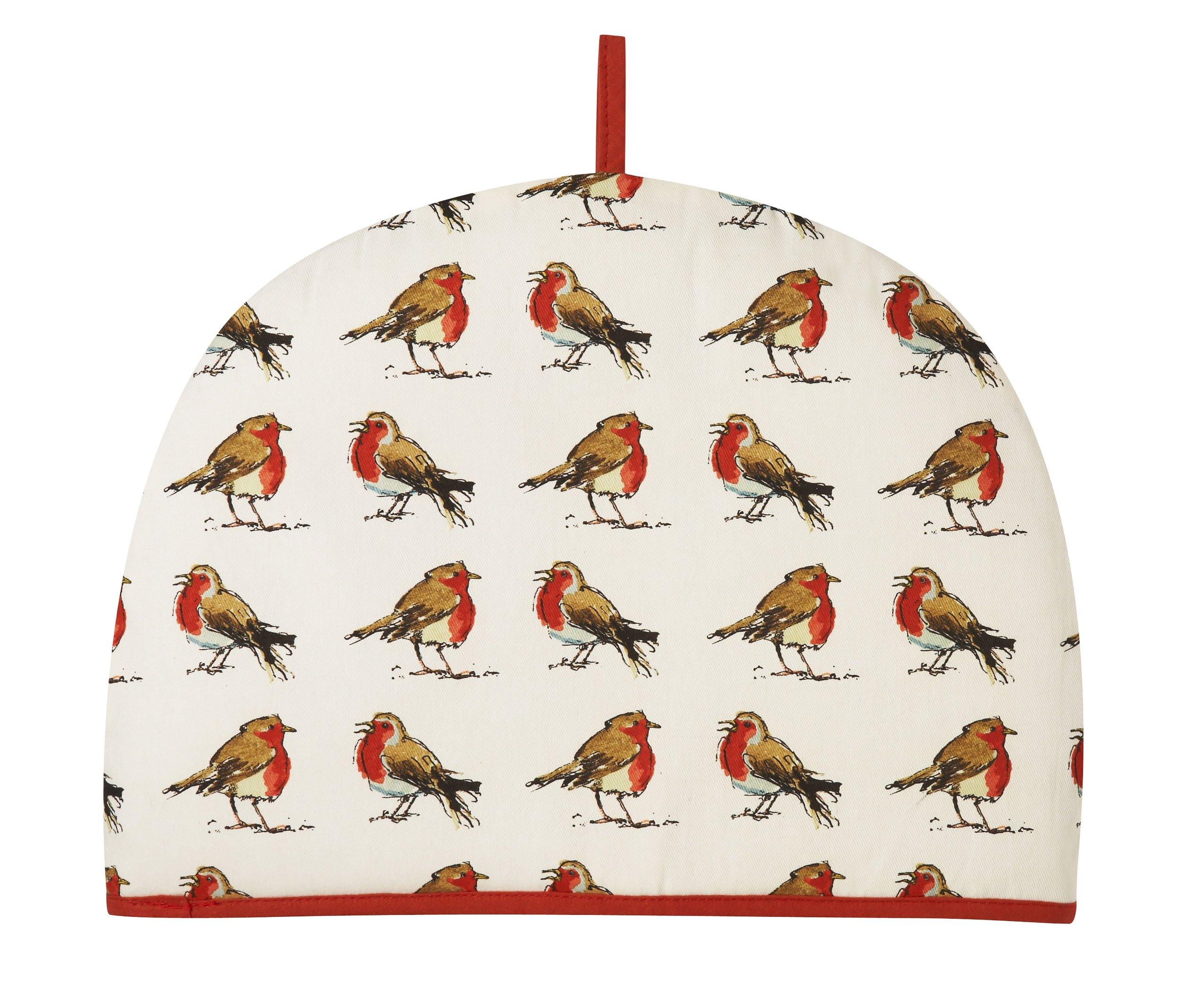 Ulster Weavers Madeleine Floyd Christmas Robins Tea Cosy