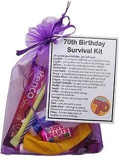 SMILE GIFTS UK 70th Birthday Survival Kit Gift