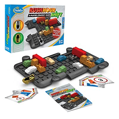 Think Fun Rush Hour Shift Two Player Strategy Game - A Two Player Version of International Rush Hour: Toys & Games