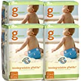 gNappies Disposable Inserts Case, Medium/Large/XLarge (5-15+ kg)