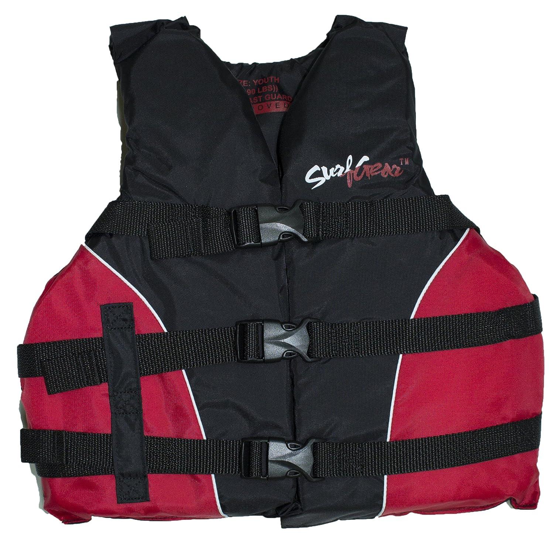 最適な価格 SurfGear 米国沿岸警備隊承認 ユースライフベスト (50~90ポンド) (レッド) (レッド) SurfGear B07CGMPC1Q B07CGMPC1Q, タマヤマムラ:98097383 --- a0267596.xsph.ru