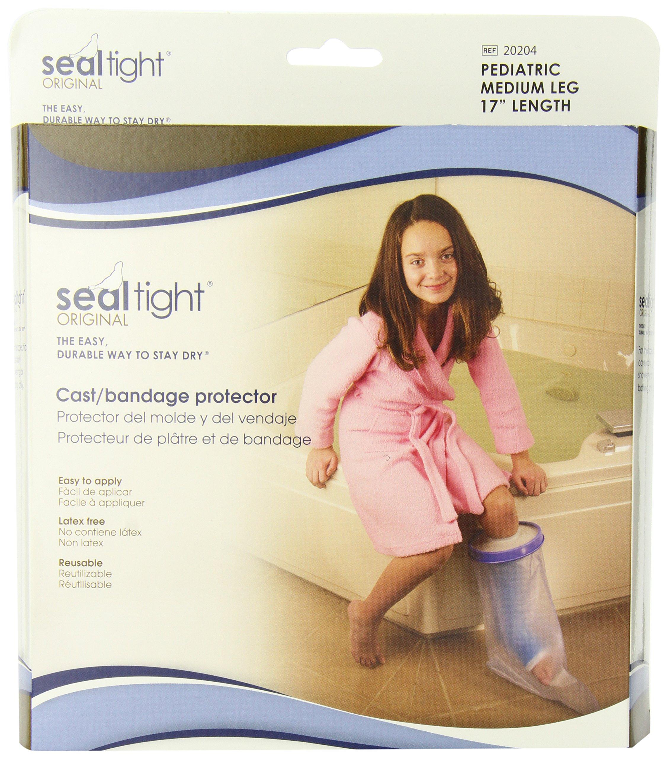 Brownmed SEAL-TIGHT Original Cast and Bandage Protector, Pediatric Medium Leg by Brownmed