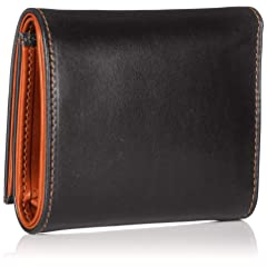 Whitehouse Cox Saddle Collection One Hand Wallet S1121: Black / Cammello