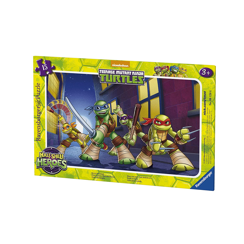 Ravensburger Puzzle - 06126 - Tortugas Ninja Listo para la ...