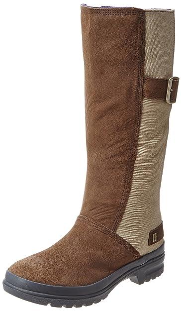 super popular 89d11 fbb9a DC Shoes FLEX BOOT LE D0320083, Damen Fashion Stiefel, Braun ...