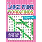 Large Print Word-Finds Puzzle Book-Word Search Volume 283