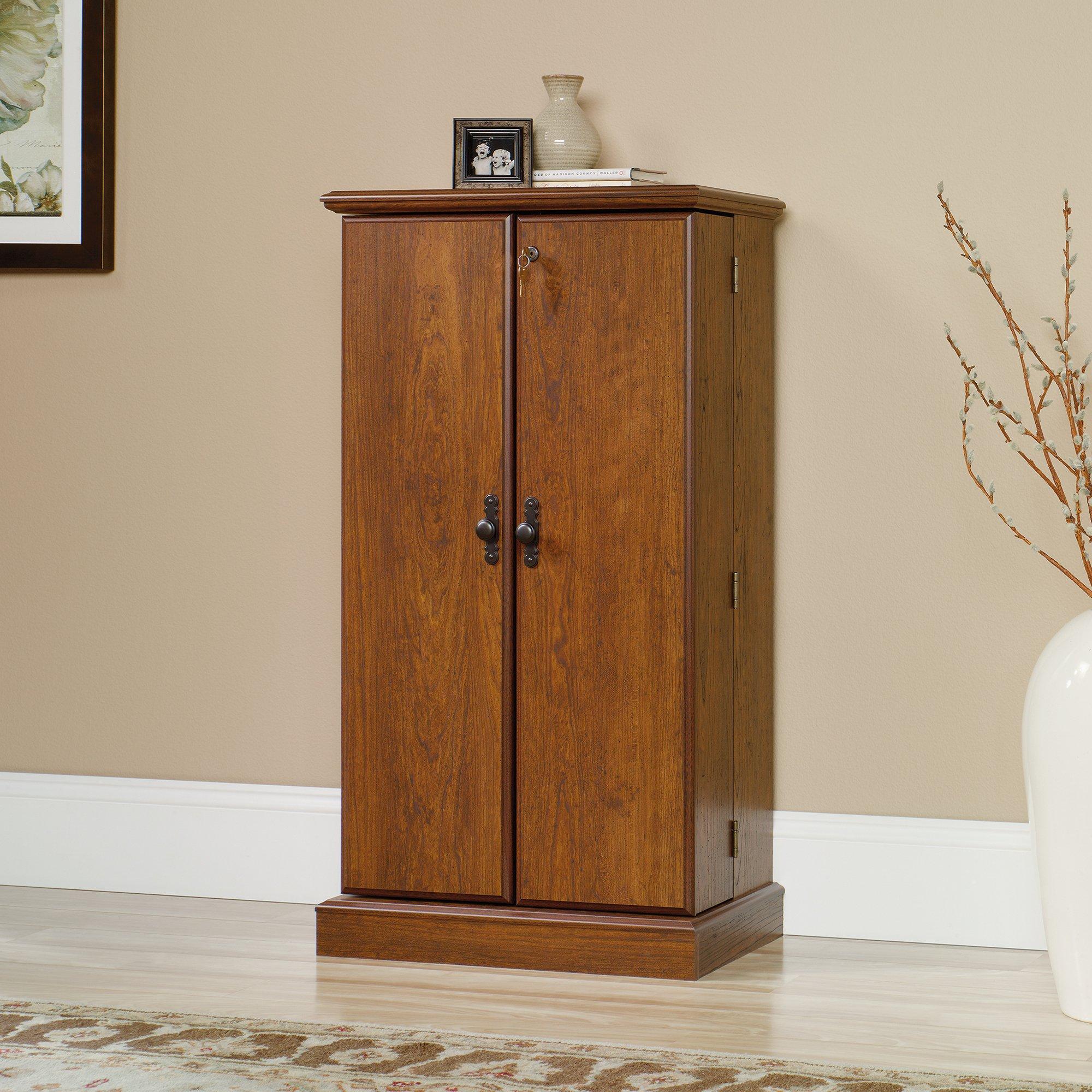 Sauder Orchard Hills Multimedia Storage Cabinet in Milled Cherry