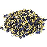 Three Squirrels 100% Natural Dried Pure Whole Butterfly Pea Flower Tea, Perfect Blue Purple Coloring for Food and Beverage, 2Oz(56g)