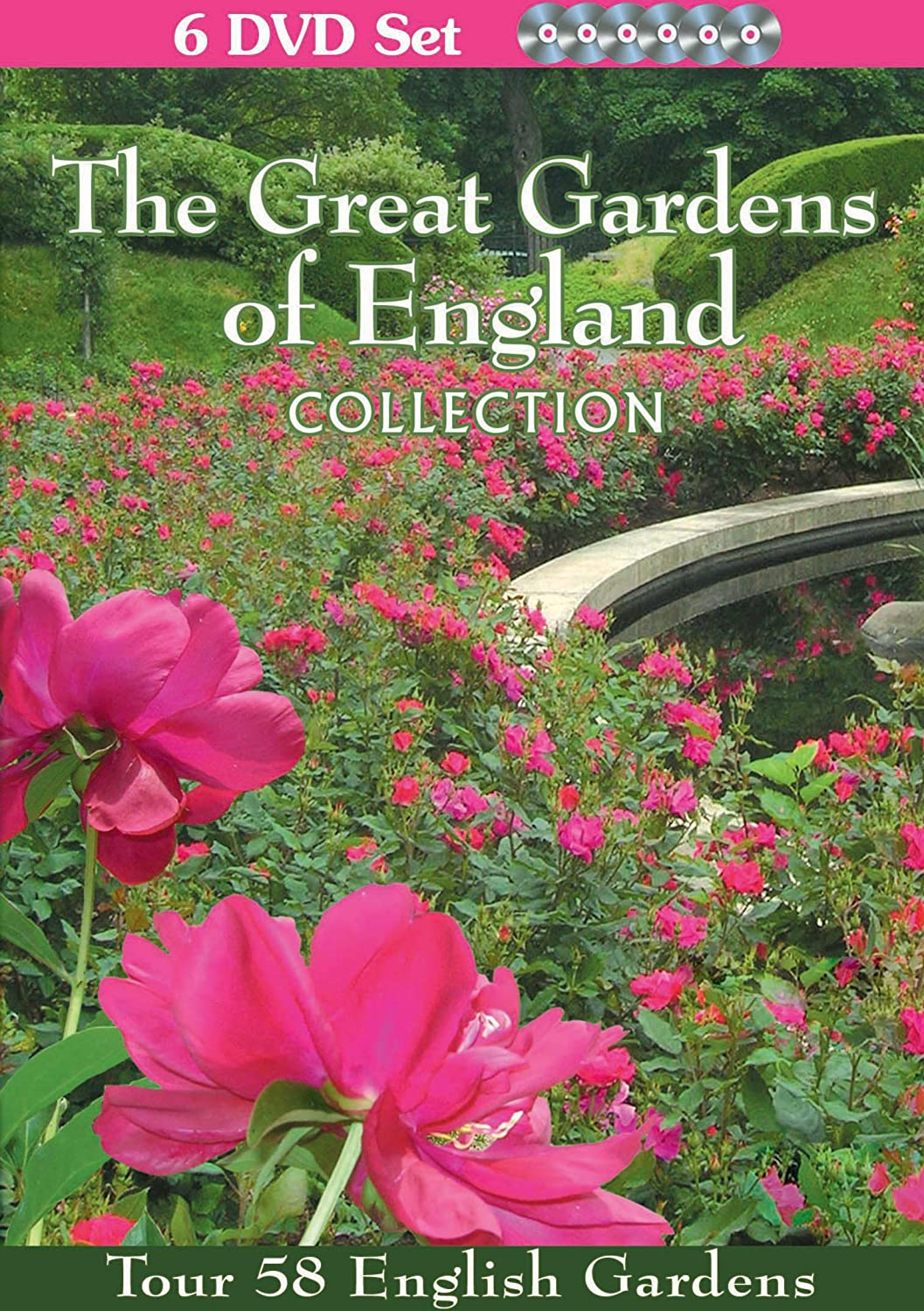 Amazoncom The Great Gardens of England Collection6 DVD SetTour