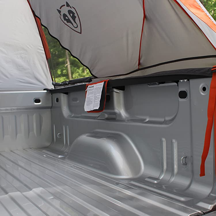 Standard Truck Bed Tent 6.5'-Floorless design allows for set up without removing gear from the bed
