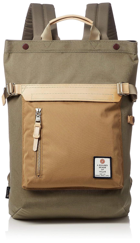 [アッソブ] 2WAY バッグ HI Density Cordura Nylon Bag 091403  ダークベージュ B07NY8C5Y2