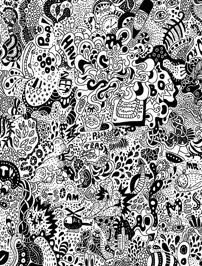 Los Angeles Freeway Maze 4 x 3-Feet JP London PMUR2373 uStrip Peel and Stick Removable Wall Decal Sticker Mural