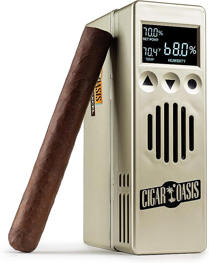 Durable Black Tobacco Smoking Cigar Humidor Humidifier Rectangle Humidor In ZXVQ