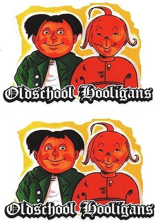 World Of Colour Part 2 108 2 Set 2x Oldschool Holligans Aufkleberstickeroldschoolretrorockabilly