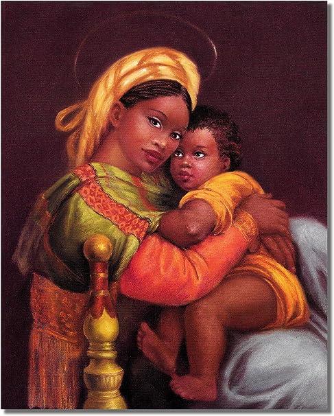 PRINT IMAGE PHOTO G10 AFRICAN AMERICAN ART PRINT ANGELS 8X10 POSTER