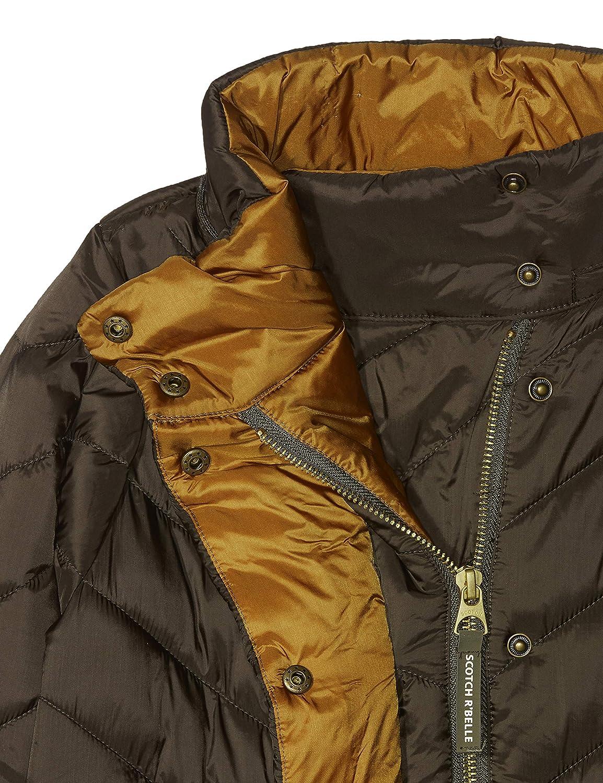 Scotch /& Soda Girls Padded Detachable Hood in Short Length Jacket