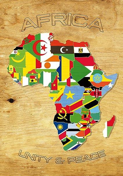 environ 20.32 cm SOUDAN Drapeau 8 in glaçage comestible cake topper décoration pays monde Fun Afrique