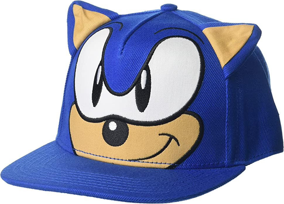 Damenmode Cute Boy Sonic The Hedgehog Cartoon Youth Adjustable Baseball Hat Cap Blue For Boys Hot Selling