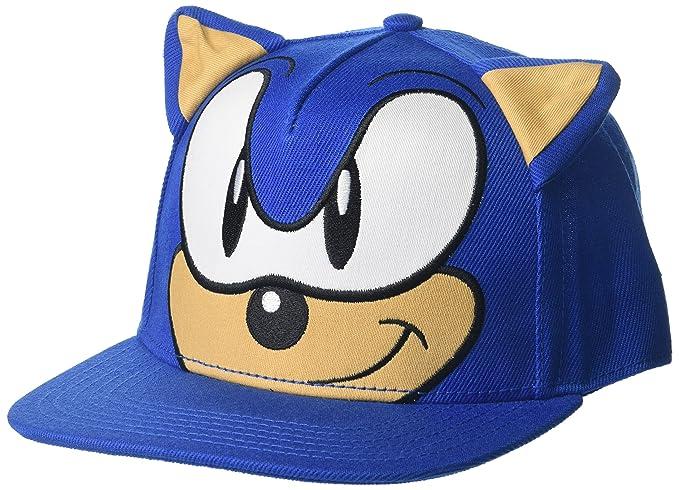 Sonic - Gorra de béisbol para Hombre 9af2b0854c7