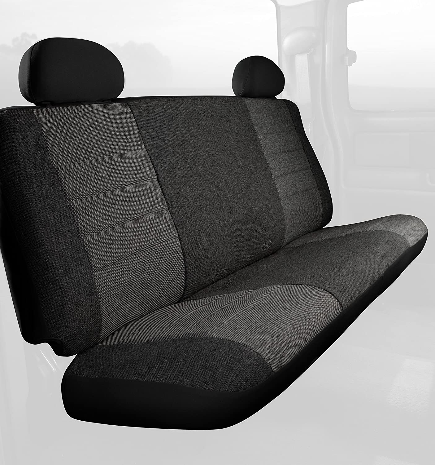 Fia OE32-24 CHARC Custom Fit Rear Seat Cover Split Seat 60//40 Tweed, Charcoal