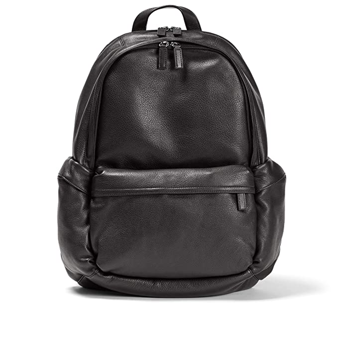 Leatherology Black Onyx Parker Backpack