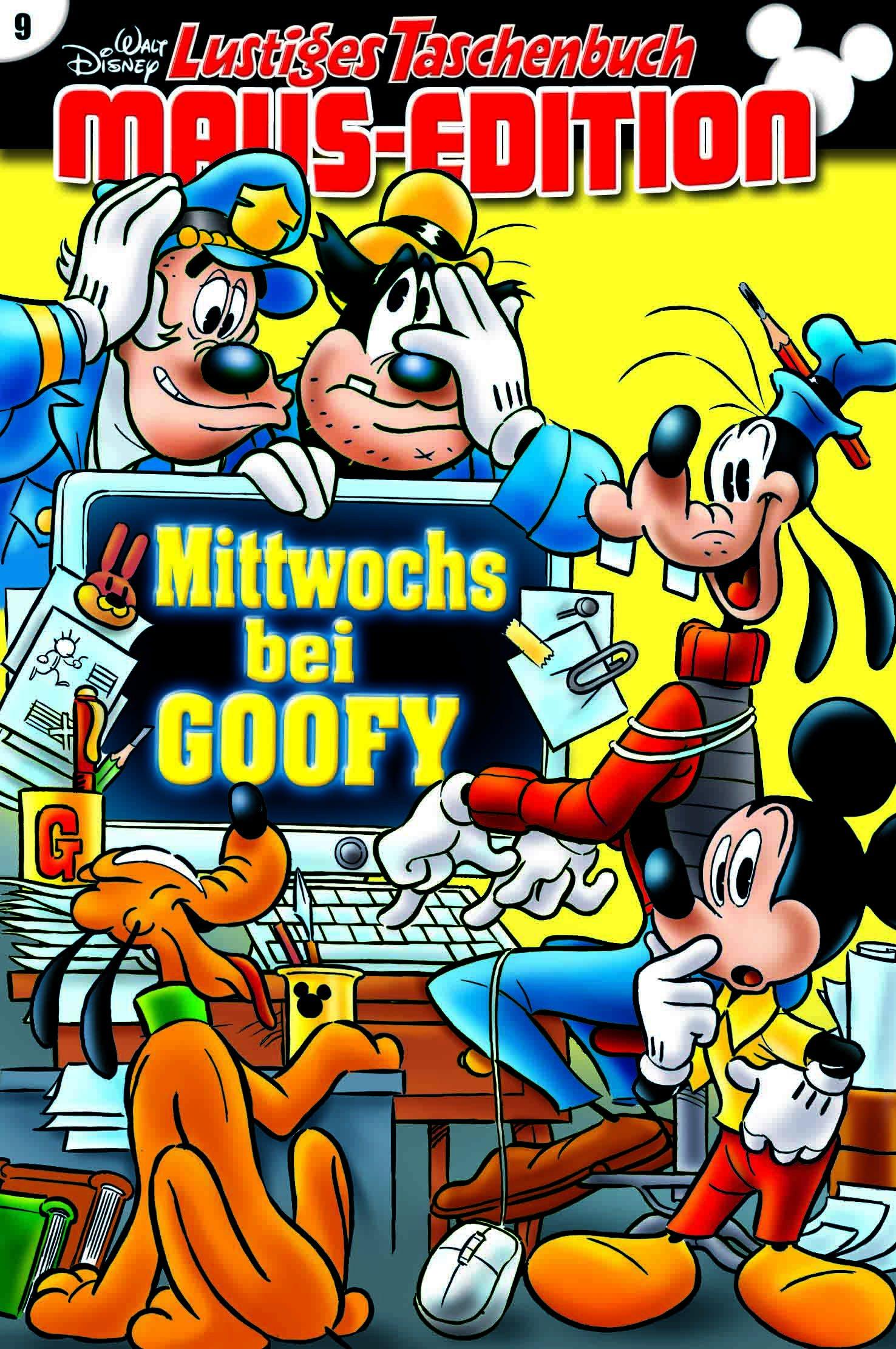 Lustiges Taschenbuch Maus-Edition 09: Mittwochs bei Goofy