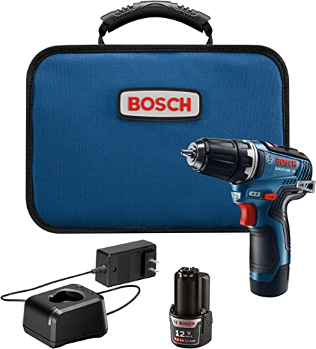 Bosch GSR12V-300B22 12V Max EC Brushless 3 8 In. Drill Driver Kit