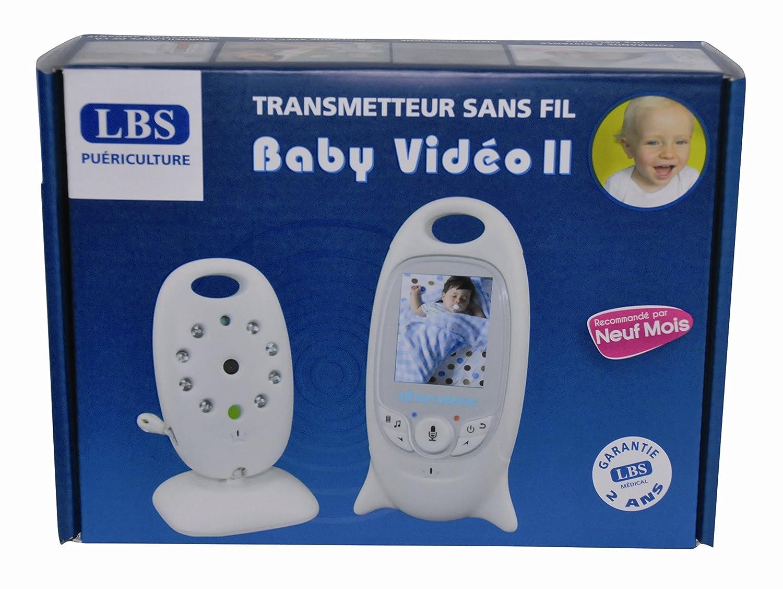 Ecoute-bébé et surveillance caméra Baby Video II LBS Medical L B S Medical BABYVIDEOII