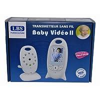 Ecoute-bébé et surveillance caméra Baby Video II LBS Medical