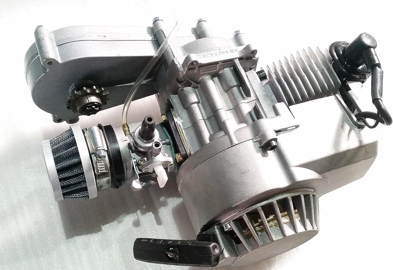 ORANGE IMPORTS ENG02A Motor con caja de transferencia, 2 tiempos ...