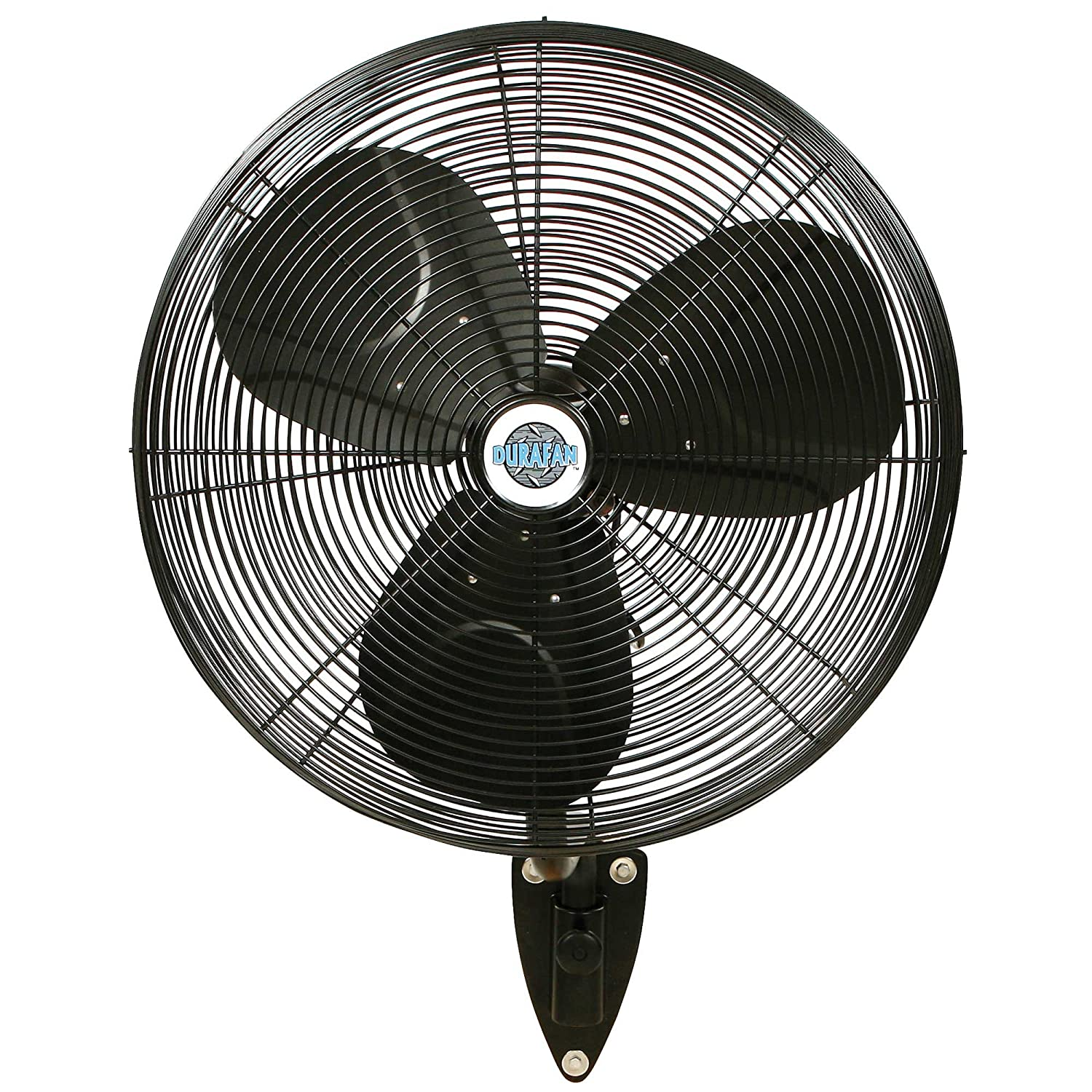 "Amazon 24"" Durafan Indoor Outdoor Oscillating Wall Mount Fan"